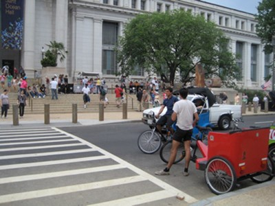 Pedicab Operators Say They're Being Harassed By Police